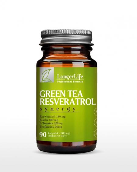 GREEN TEA RESWERATROL LONGER LIFE
